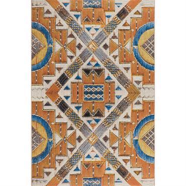 Tapis pour l'intérieur et l'extérieur - multicolore 120x180 cm