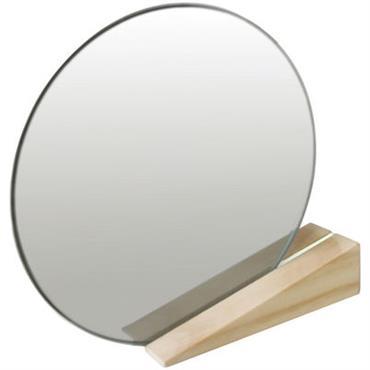 Miroir à poser On the edge - Thelermont Hupton blanc