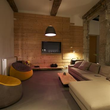 Réalisation complete de ce loft dans les pentes de la croix rousse  à Lyon  Domozoom