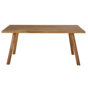 Table de jardin en acacia massif 6/8 personnes L180 Boréal