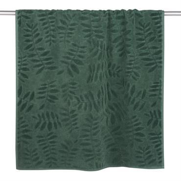 La serviette en coton vert motifs feuilles 70x140 BOTANIC vous offrira tout le confort et la douceur que vous recherchez. Épaisse et accueillante, elle sera indispensable lors de la sortie ...