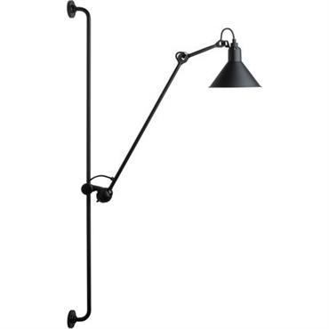 Applique N°214 / Lampe Gras - DCW éditions noir satiné en métal