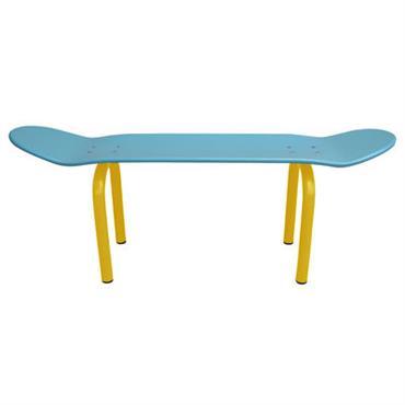Banc Skate Board / L 80 cm - Leçons de Choses Bleu
