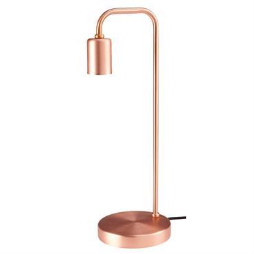 Lampe en métal cuivré EVA