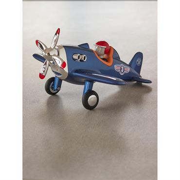 Avion Jet Plane Baghera bleu marine