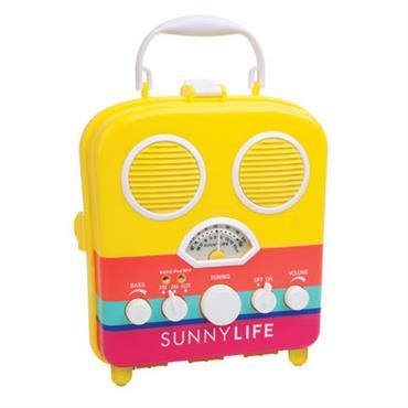 Radio portable Havana / Enceinte - Étanche - Sunnylife jaune