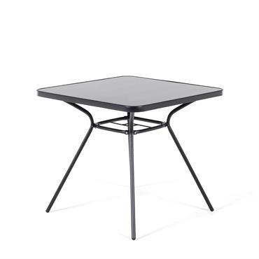 Ce qui est petit est mignon, ce qui est grand est charmant ! Choisissez une table de jardin selon votre préférence. Deux versions existent, la petite 80x80 cm au plateau ...