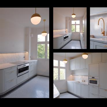 Aménagement appartement 220 m²   Domozoom