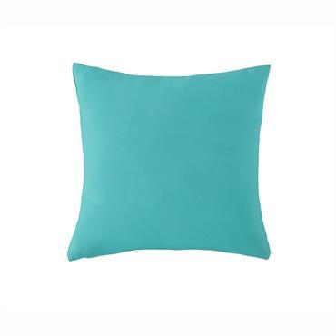 Coussin d'extérieur bleu turquoise 40x40