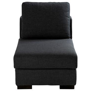 Chauffeuse de canapé modulable gris anthracite Terence