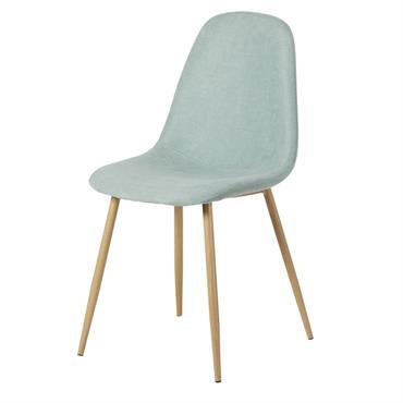 Chaise style scandinave bleu clair Clyde
