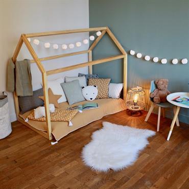AO design vous propose de découvrir l'aménagement d'une chambre d'enfant sur le style scandinave !  Domozoom