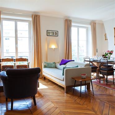 Date : août 2007 I décembre 2007 Surface : 90 m² Budget : 90 000 € Adresse : avenue Parmentier, Paris X Objet : ... Domozoom