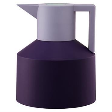 Pichet isotherme Geo - Normann Copenhagen violet en matière plastique