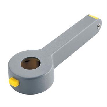 Tire-bouchon Noé / Coupe-capsule intégré - Alessi gris foncé en métal