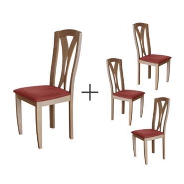 Lot de 4 chaises Panama