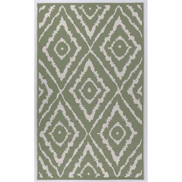 Tapis moderne intérieur et extérieur vert 70x120
