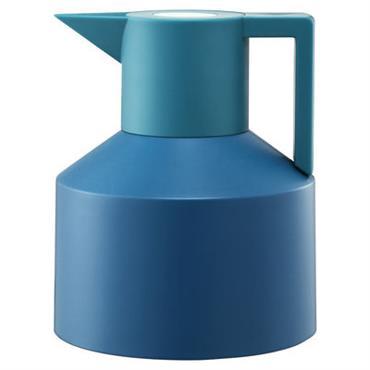 Pichet isotherme Geo - Normann Copenhagen turquoise en matière plastique