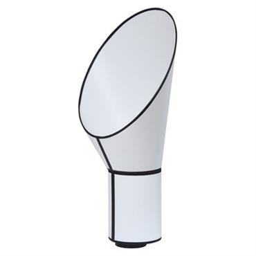 Lampe de table Petit Cargo H 67 cm - Designheure blanc en tissu