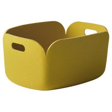 Panier Restore / Feutre - 35 x 48 cm - Muuto jaune