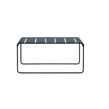 Banc en acier gris anthracite