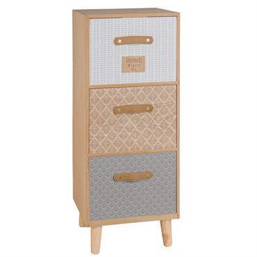 Tout ce qui est petit est mignon, et le petit meuble de rangement 3 tiroirs à motifs ne déroge pas à la règle ! A la fois esthétique grâce à ...