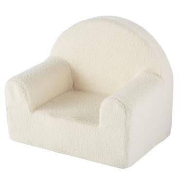 Votre enfant n'aura qu'une envie : se blottir dans le fauteuil enfant à bouclettes blanches ALESUND ! Avec ses formes arrondies et son revêtement à bouclettes, ce fauteuil sera une ...