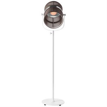 Lampadaire solaire La Lampe Paris LED / Sans fil - Maiori blanc
