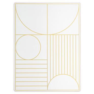 Set de table Outline / Liège - 40 x 30 cm