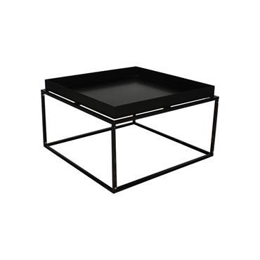 Table basse minimaliste en métal SYLVIE
