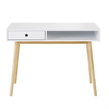 Bureau 1 tiroir blanc Dreams