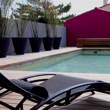 Création jardin design d'un loft en Provence  Domozoom