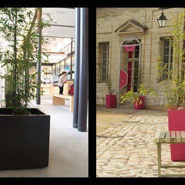 USAGE Les bacs Image'In s'adaptent très bien aux usages indoor et outdoor. En effet, l'emploi du fibre ciment, un matériau pérenne ... Domozoom