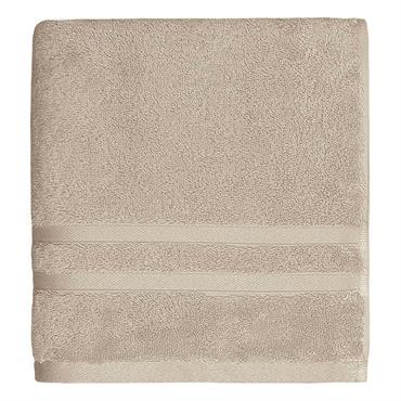 Drap de bain 600gr/m²  Sable 70x140 cm