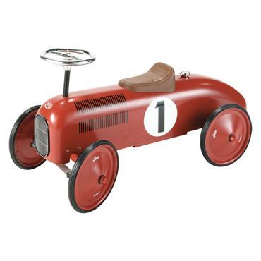 Porteur voiture en métal rouge L 76 cm VILAC