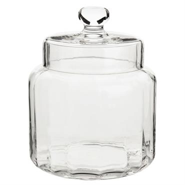 Bonbonnière en verre H17