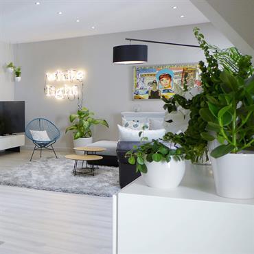 Cette pièce à vivre de 53 m² est au cœur de la vie familiale. Tout y est pensé pour vivre ... Domozoom