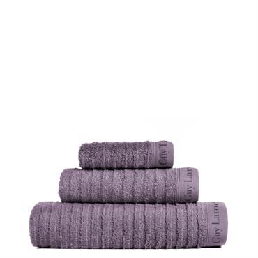 Serviette de bain 500gr/m2 en coton violet 100x150