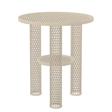 Table basse Net / Résille d´acier - Ø 40 x H 46