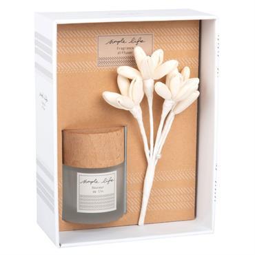 Diffuseur en verre parfum douceur de lin 30ML