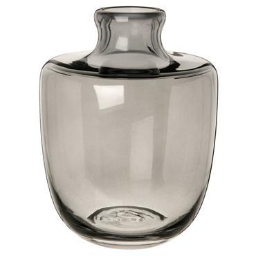 Vase dame jeanne en verre teinté H20
