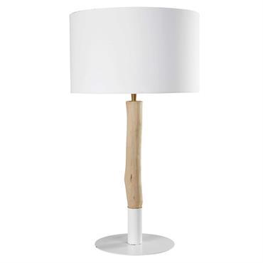 CHARME NATURELEnvie d'une lampe éblouissante de minimalisme ? Votre intérieur resplendira de luminosité avec la lampe en peuplier et coton blanc ARCHIPEL.LIGNE ÉPURÉELes tonalités claires de cette lampe en peuplier ...