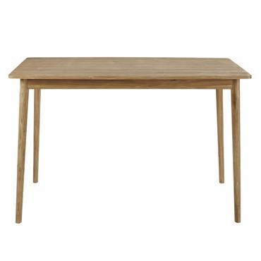 Table haute de jardin en acacia massif 6 personnes L150 Napari