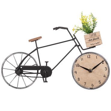 Horloge à poser vélo 36x21