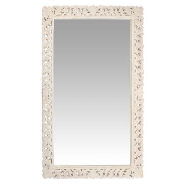 Miroir en manguier sculpté 120x180