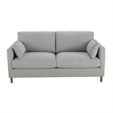 Canapé-lit 3 places gris clair Julian