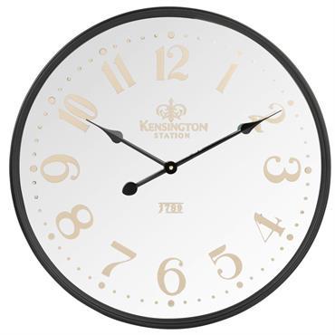 Horloge noire D60