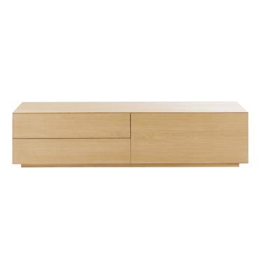 Meuble TV 2 tiroirs Norman