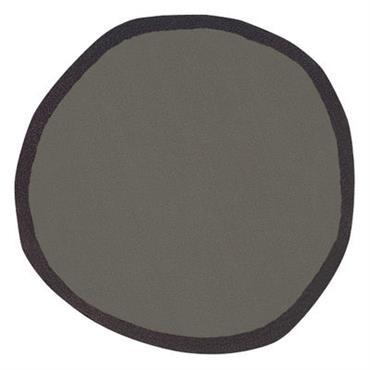 Tapis Aros - Nanimarquina gris en tissu