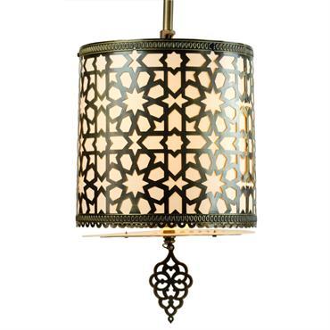 Lampe marocaine en laiton  Domozoom